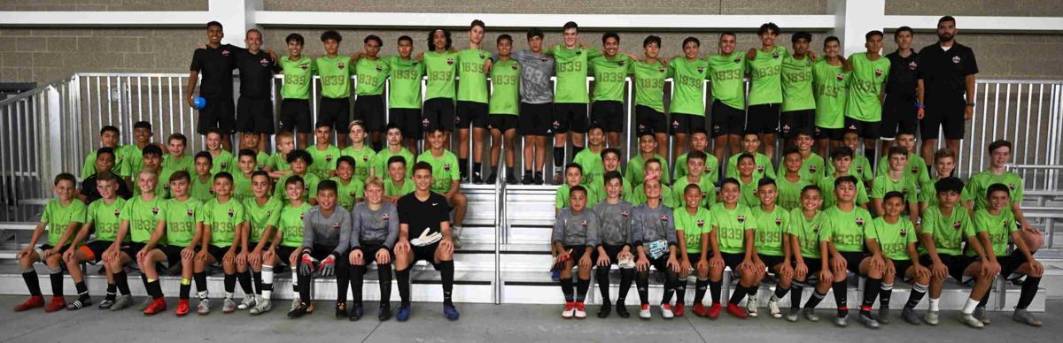 Napa United 1839 Academy boys soccer teams