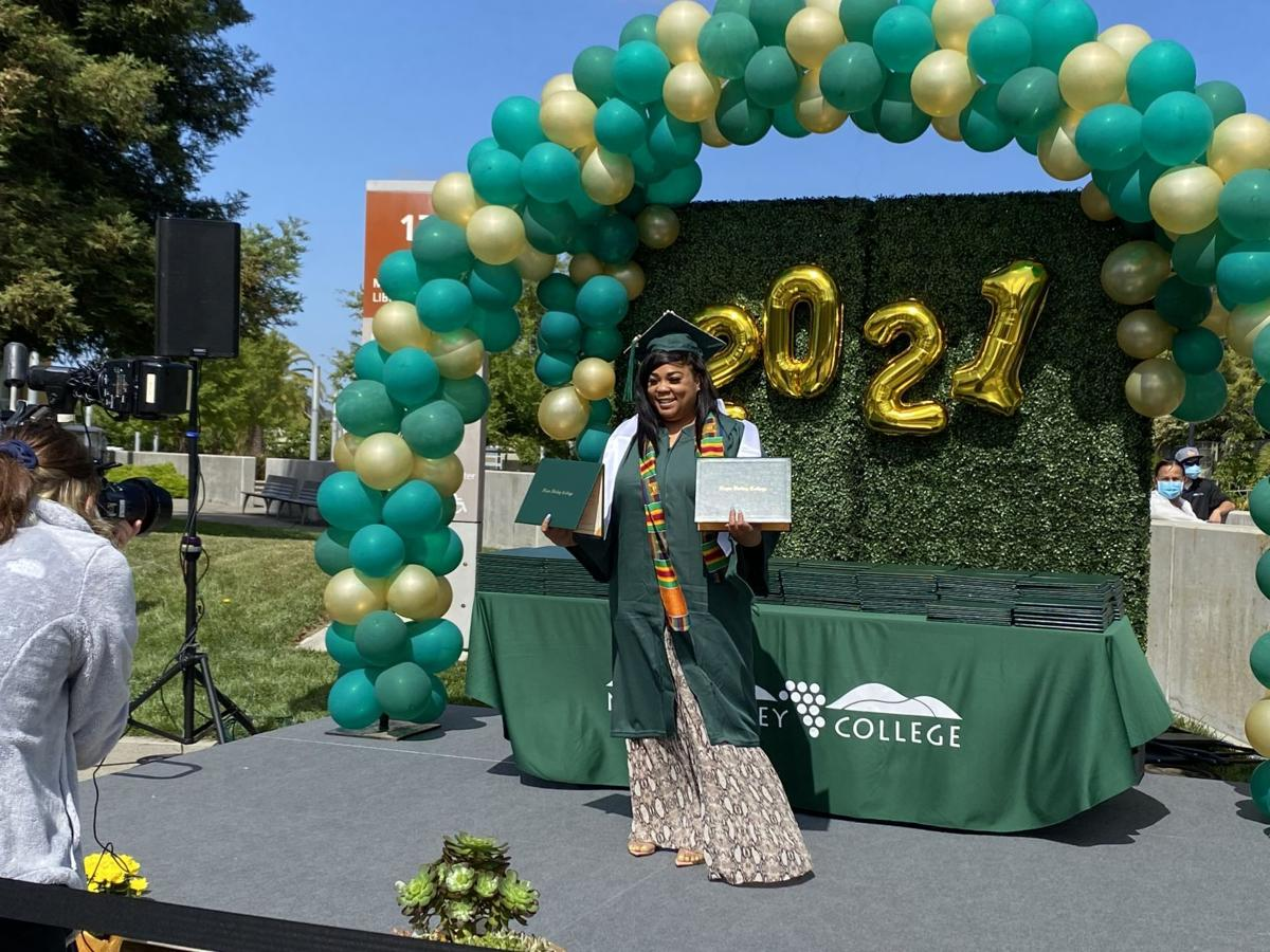 Napa Valley College graduation 2021