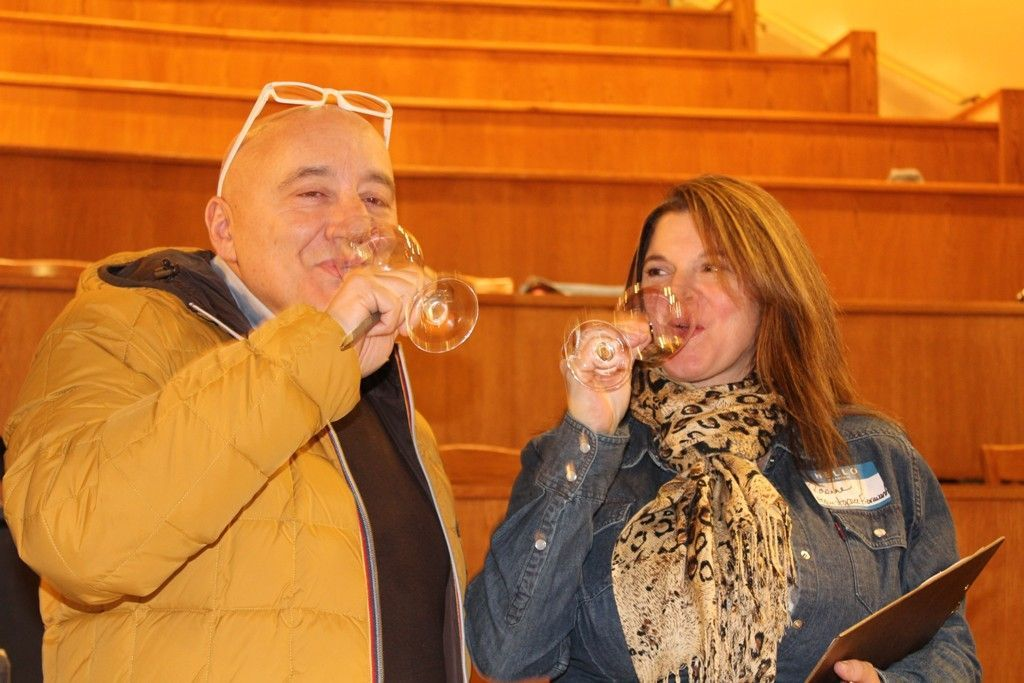Stefano and Rosanne Fioravanti