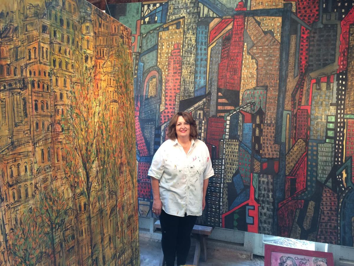 Layla Fanucci in studio
