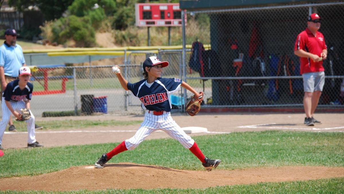 St. Helena Little League 8-10 All-Stars