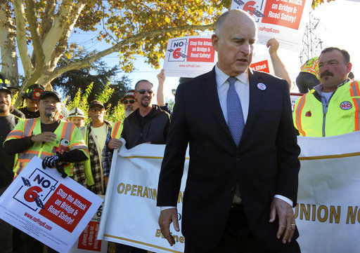 Californians reject proposal to repeal fuel tax hike