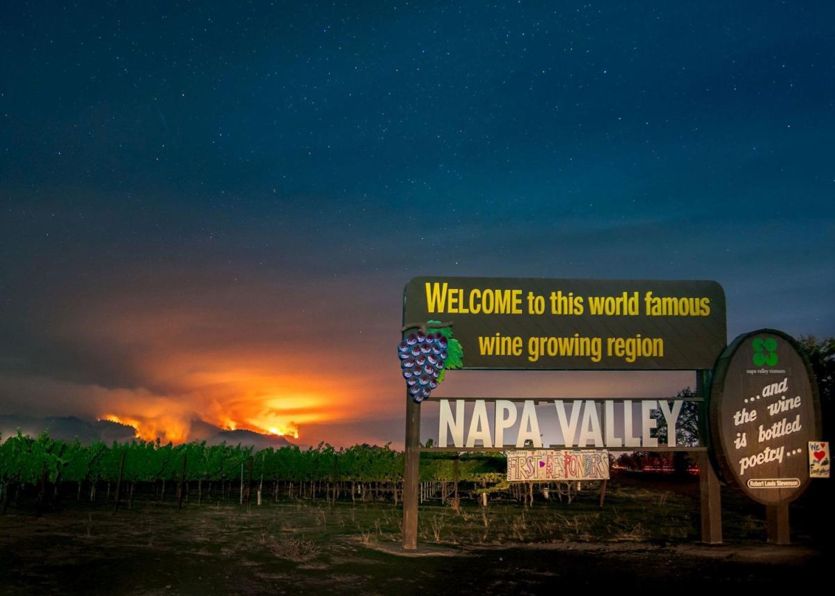 Napa Valley Wildfires 2017