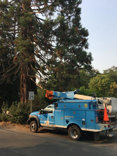 PG&E in Angwin