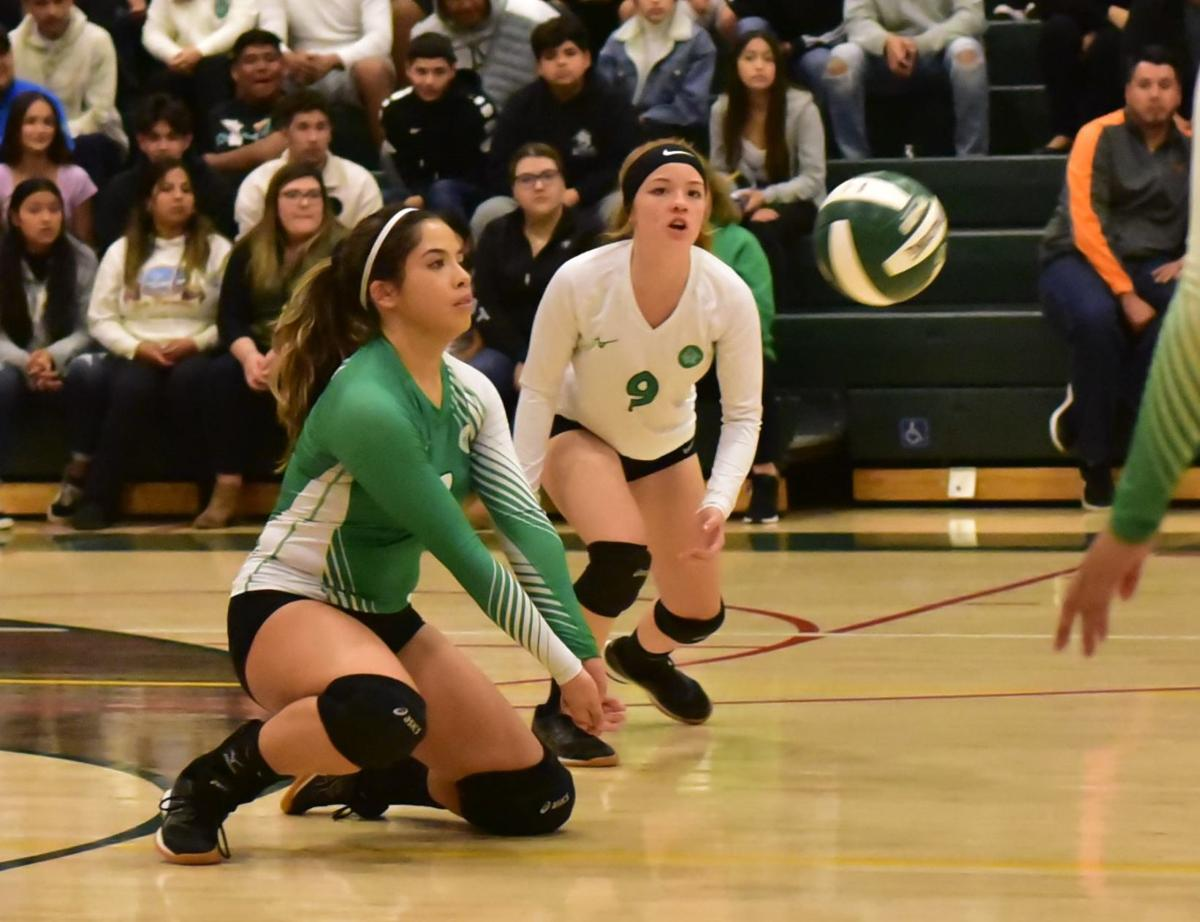 Calistoga vs Anderson Valley volleyball