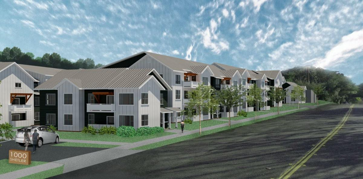 Monarch Landing affordable housing in Napa