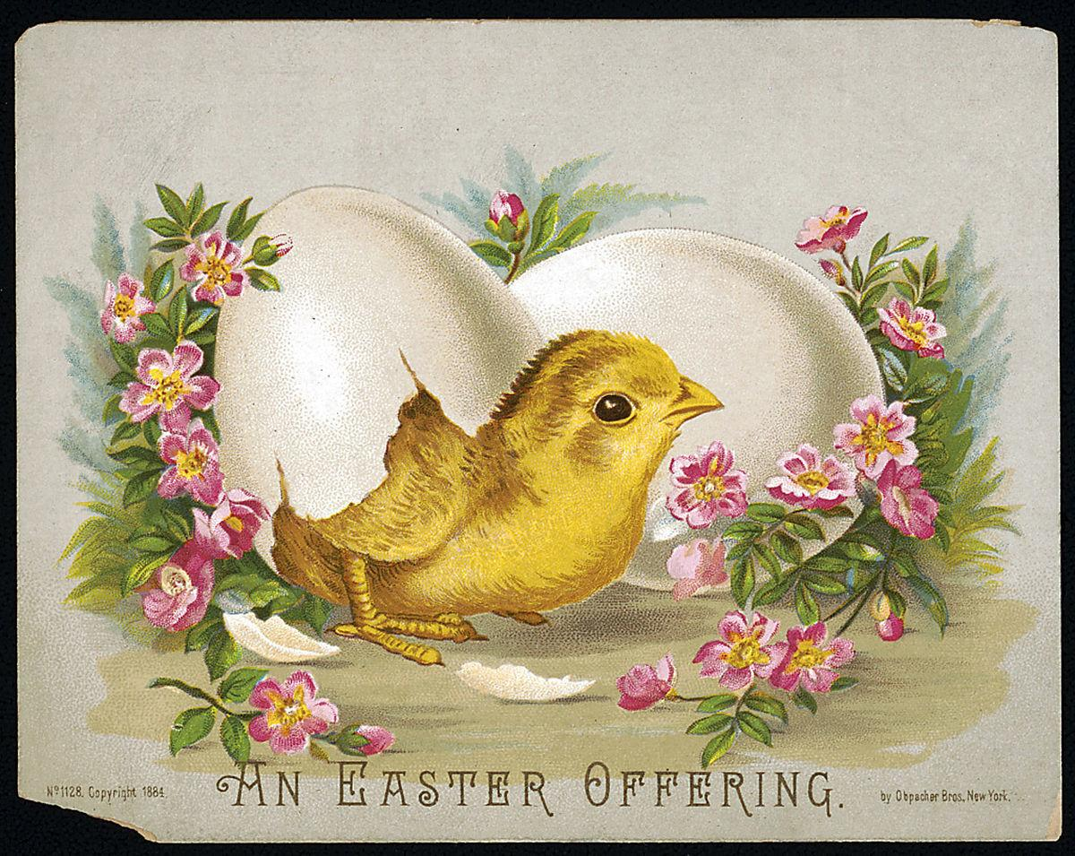Photos Vintage Easter Greeting Cards Lifestyles