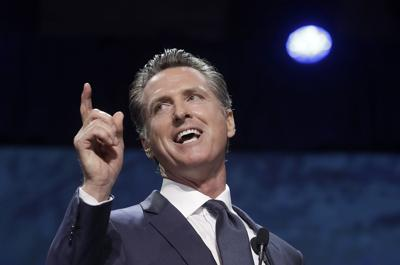 California Governor First Year