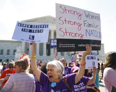 Pregnancy center ruling a blow for abortion-rights advocates