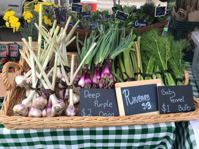 CIA Farm To Table at St. Helena Farmers' Market