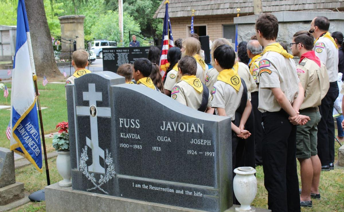 Scouts, Pathfinders at Memorial Day services