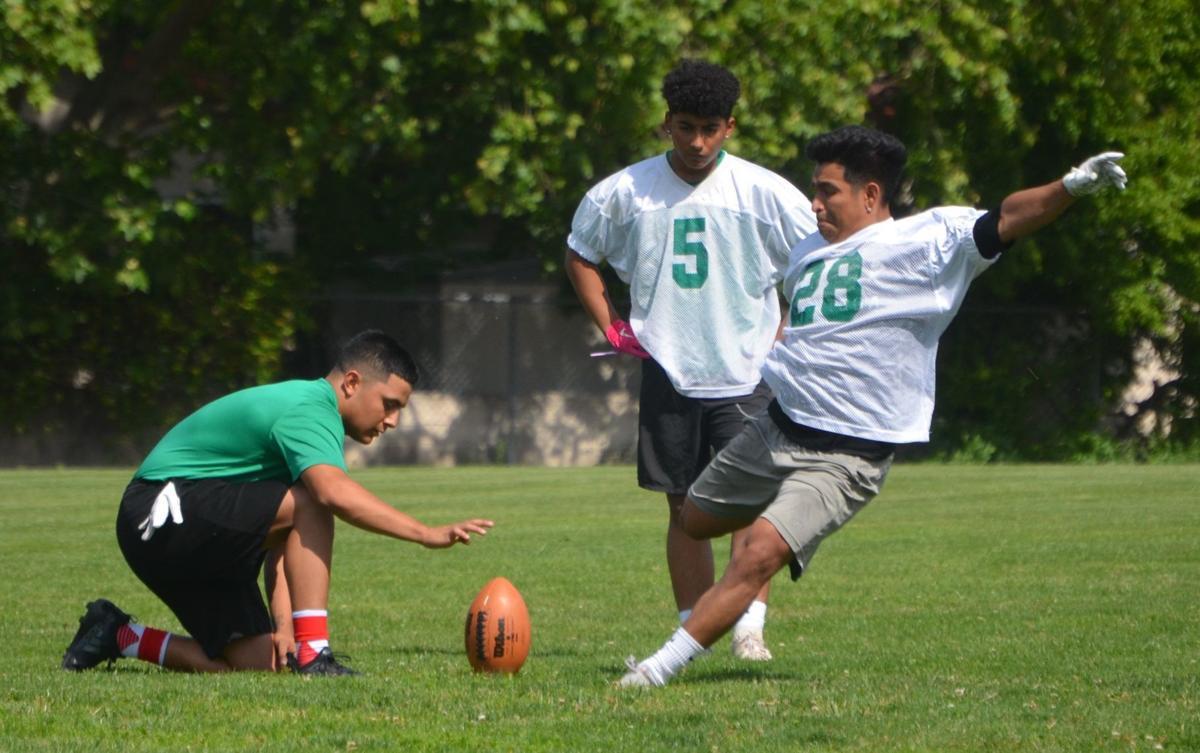 Calistoga spring football