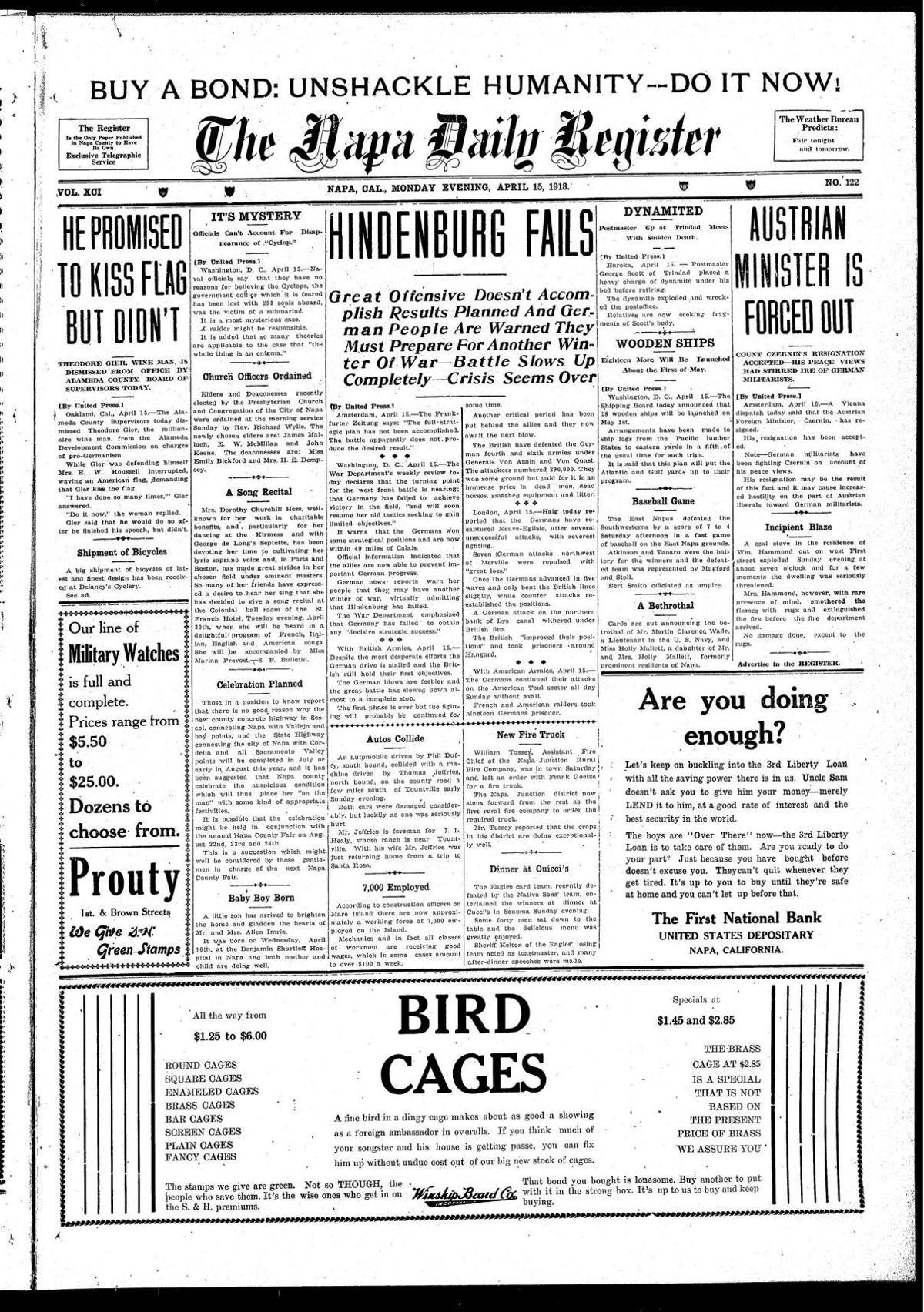 April 15, 1918