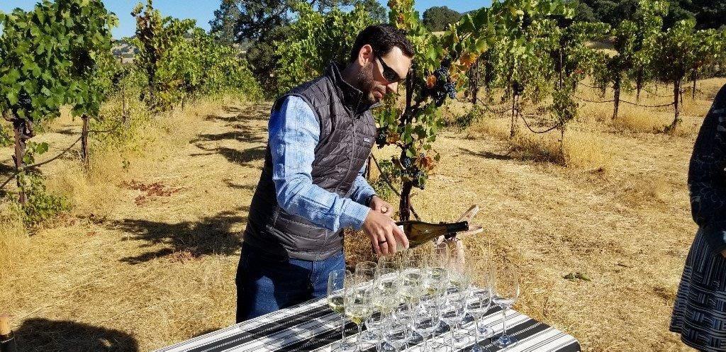 Winemaker Sebastien Donoso