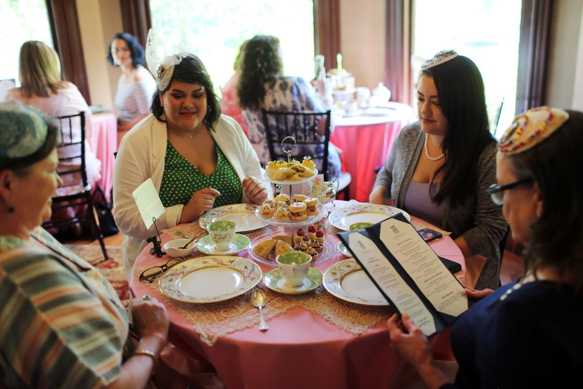 Mother's Day tea at the Ackerman Heritage House, Napa