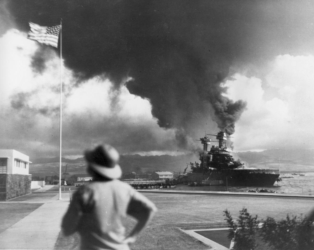 JAPANESE ATTACK PEARL HARBOR