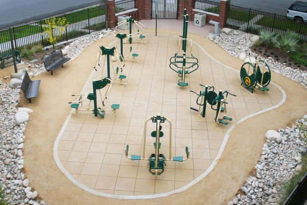 Outdoor Fitness Equipment : New foundation raising money for parks projects american