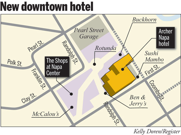 Seven Story Hotel Planned For Downtown Local News Napavalleyregister