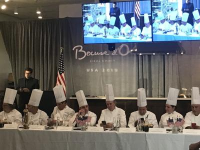 Chefs compete in Napa to represent the U.S. at next year's 'culinary Olympics' in France