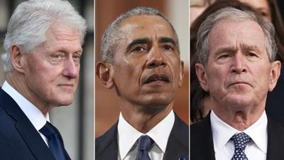 Obamas, Bushes and Clintons teaming up in effort to aid Afghan refugees