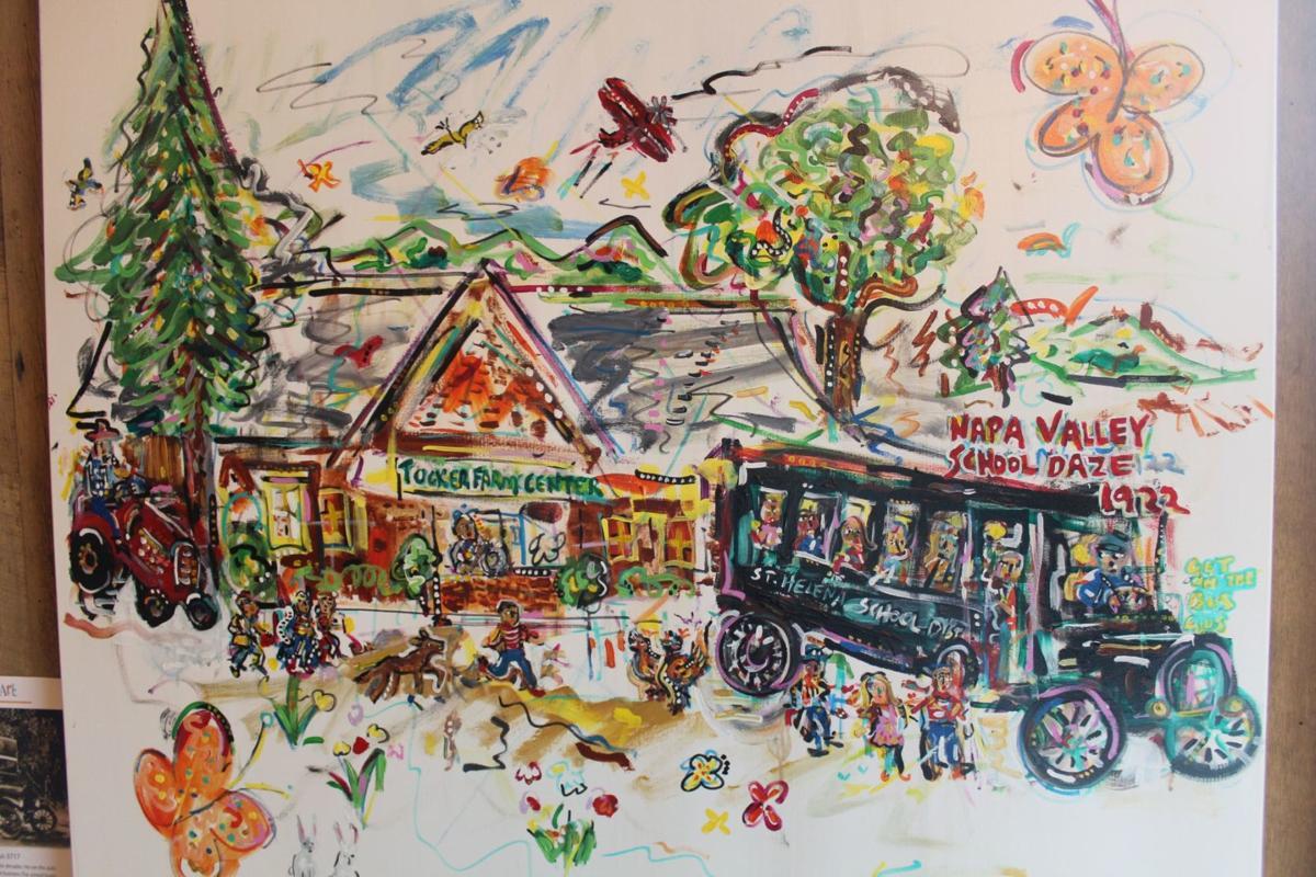 Geoff Ellsworth, 'Home-Made School Bus 3717'