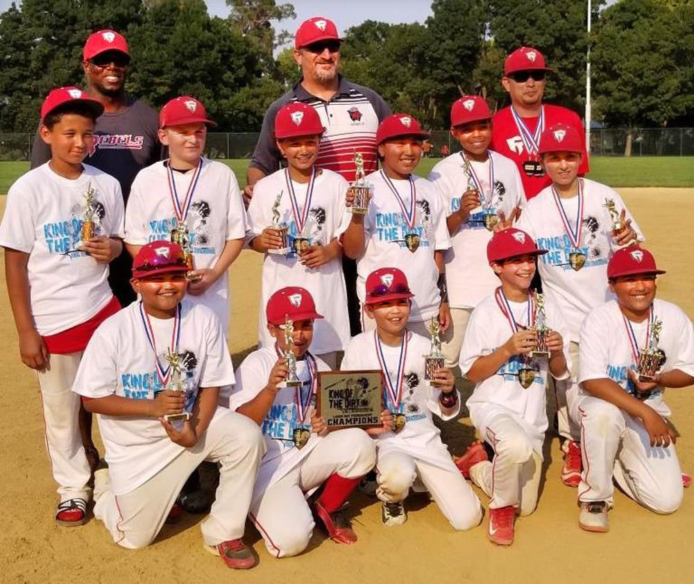 American Canyon/North Bay Rebels 12U baseball team