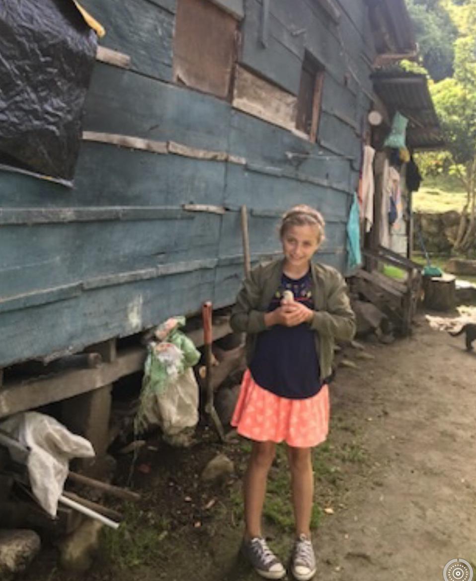 Arabella Gerosa in Panama