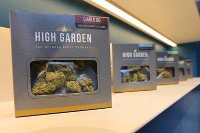 Cannabis sales in Napa County at Harvest