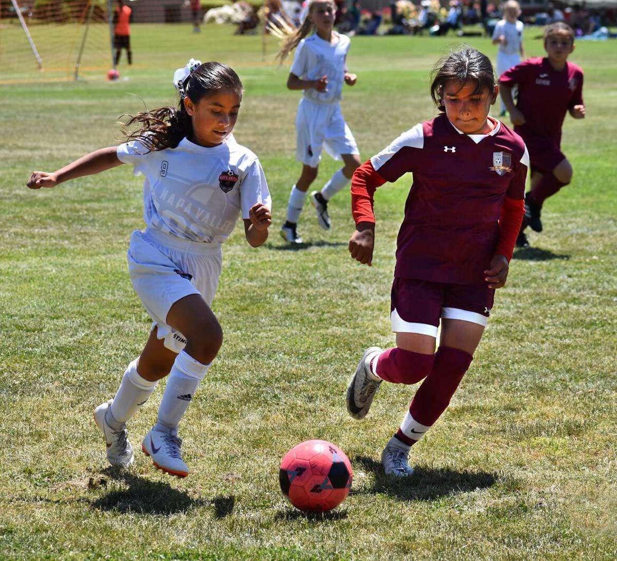Napa United 1839 Academy's 2008 girls