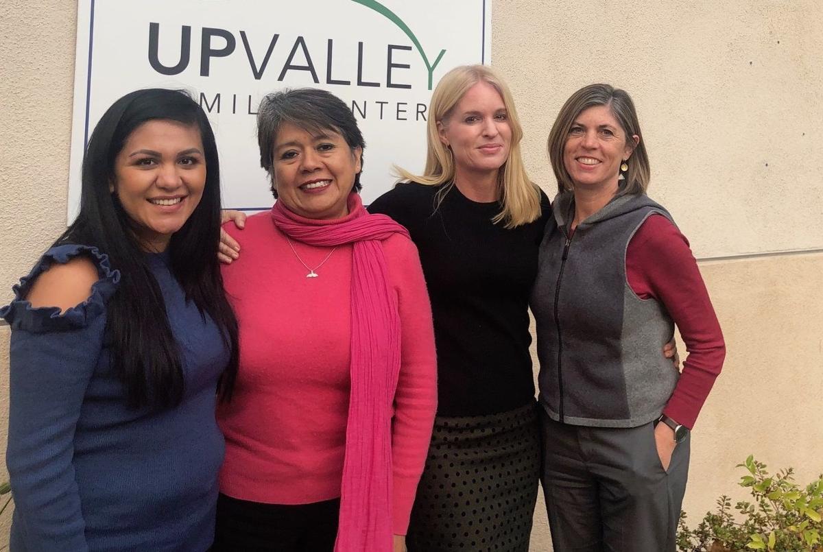 Lupe Maldonado, Indira Lopez, Susan Dix Lyons and Jenny Ocon