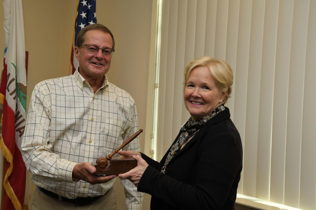Incoming Napa County Board of Education President Steve Orndorf