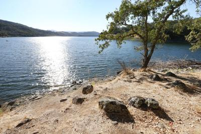 Napa water supply at Lake Hennessey