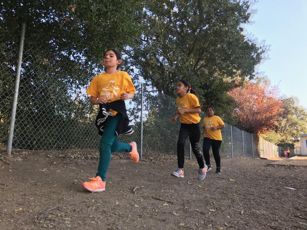 Phillips Magnet Elementary Girls On The Run team