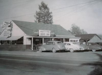 Napa As It Was, James Ford, Knotty Pine Drive-In