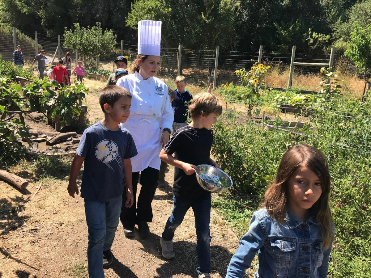 Summer camp at Connolly Ranch