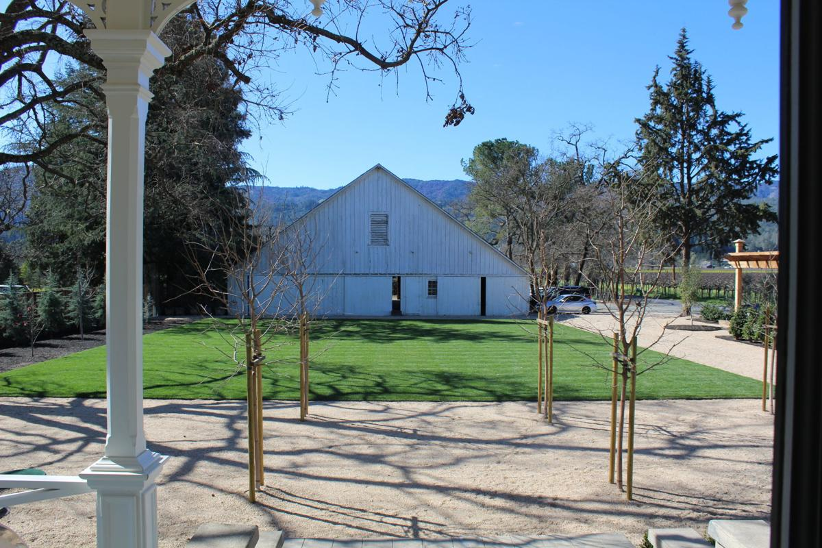 Ink House view of the historic Helios Ranch