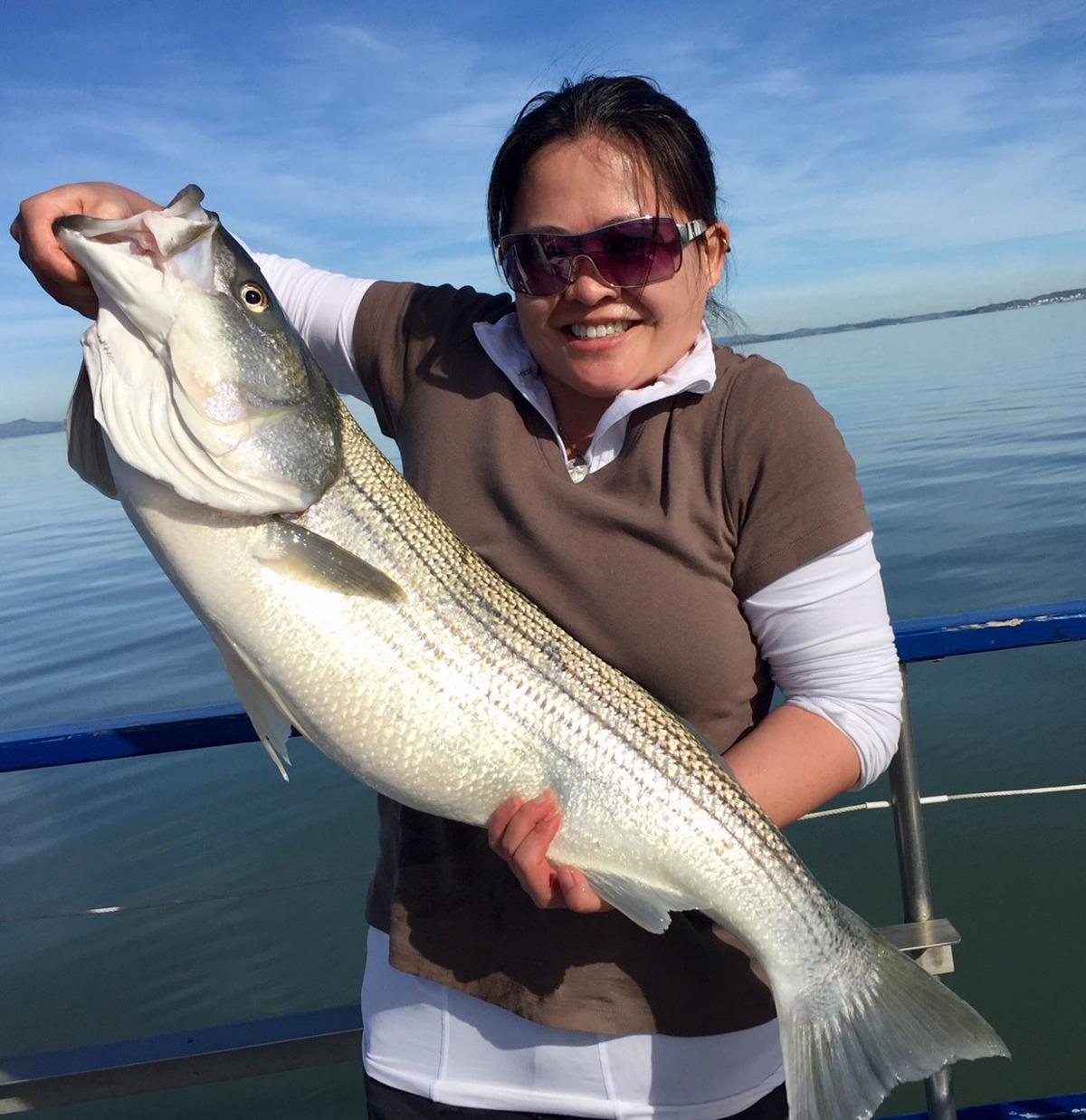 The fishing report seek out warm spots at clear lake for Clear lake fishing report