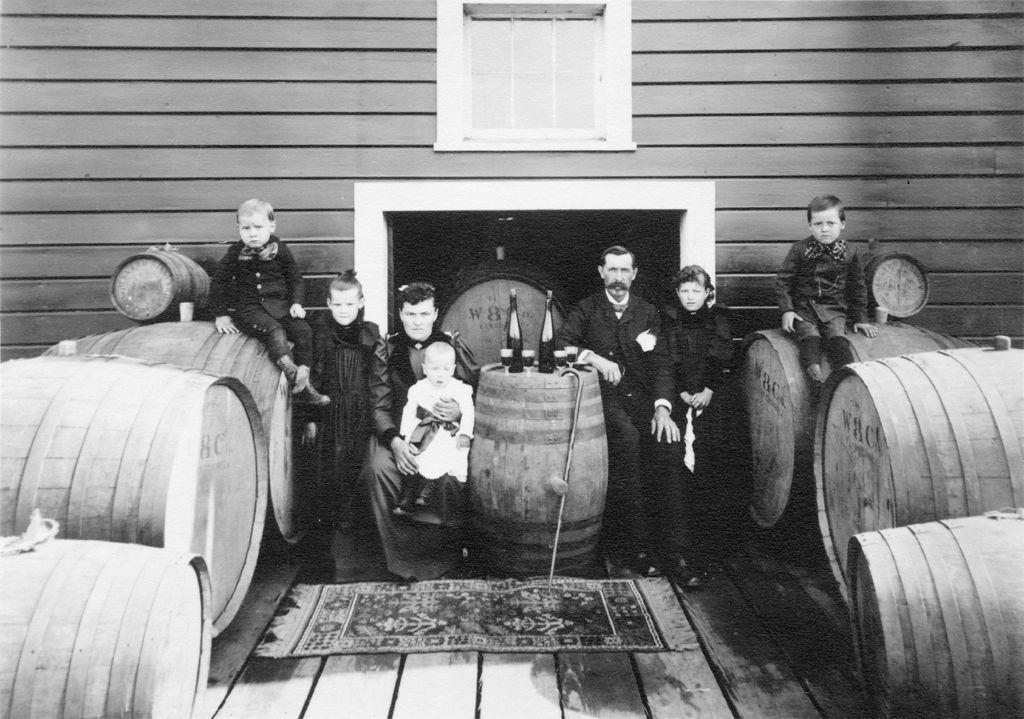 Wente Family Circa 1895