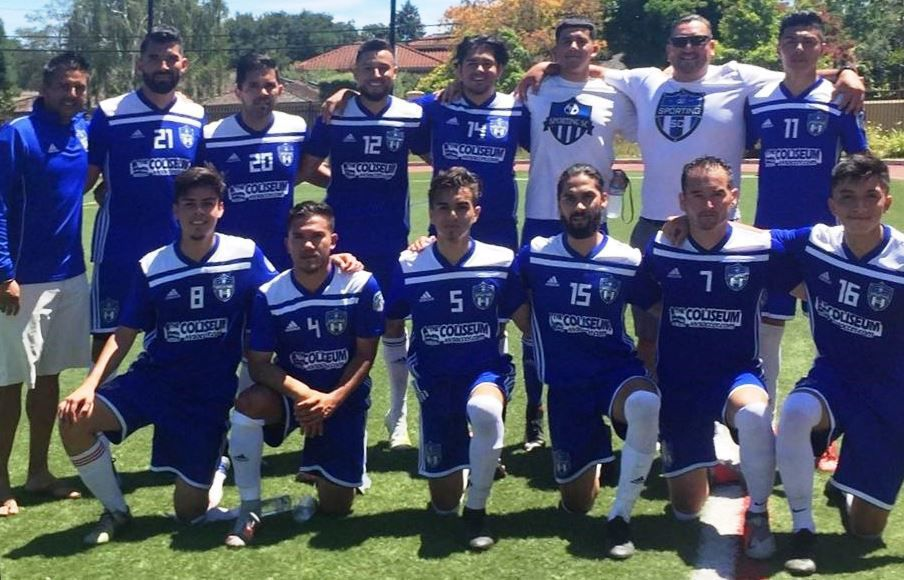 Napa Soccer Academy's under-23 team