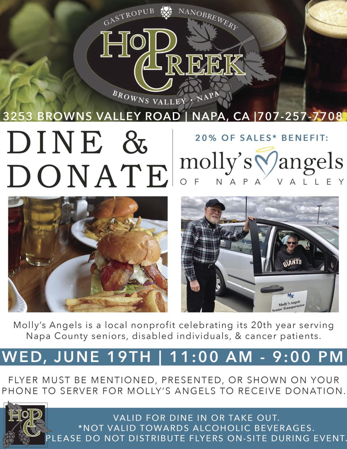 Hop Creek Pub Dine & Donate