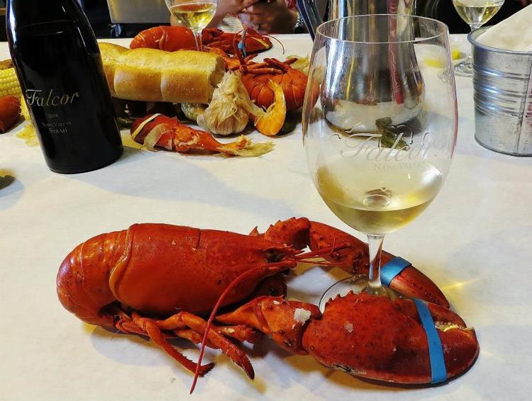 Falcor's Lobster Feed!