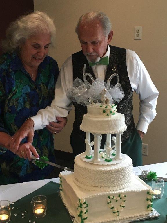 Napa couple celebrates diamond anniversary
