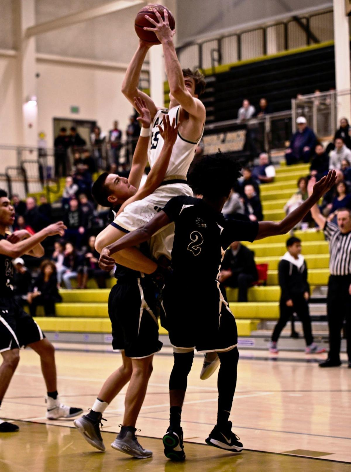 Napa at American Canyon boys basketball in VVAL Tournament title game