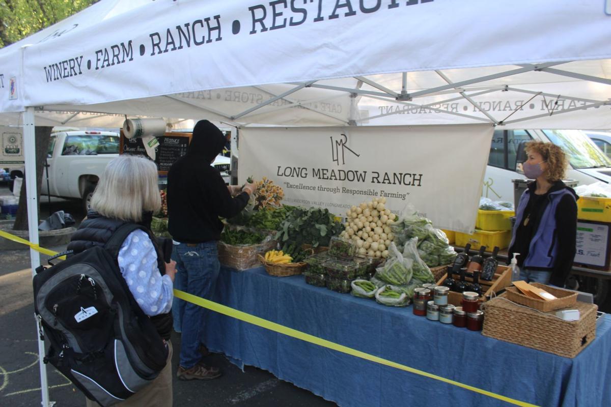 Long Meadow Ranch at St. Helena Farmers' Market