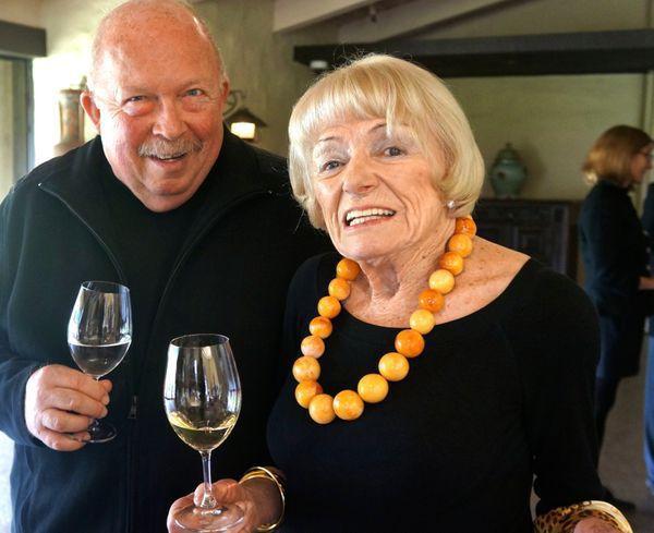 L. Pierce Carson and Margrit Mondavi