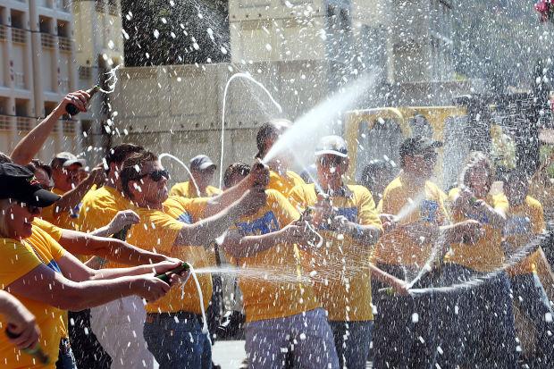 Mumm kicks off 2014 harvest with a splash | Local News