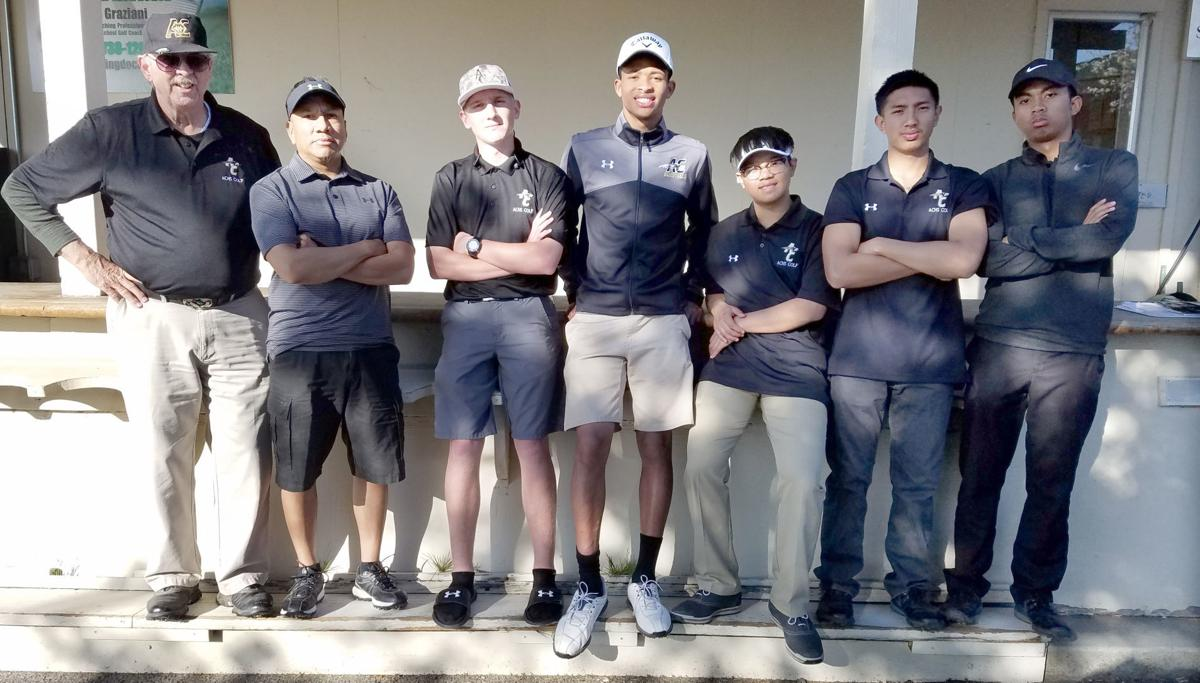 American Canyon boys golf
