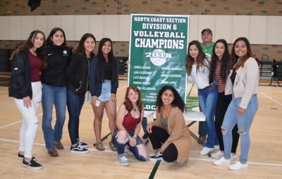 Calistoga volleyball banner