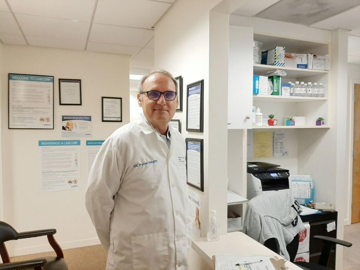 At age 60, St. Helena doctor goes back to school