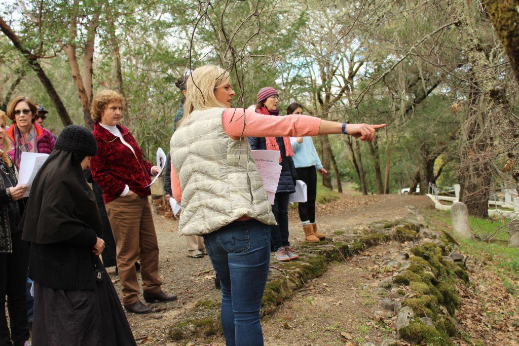 Rachel Melick shares 'Great Love Stories of Calistoga' in Pioneer Cemetery